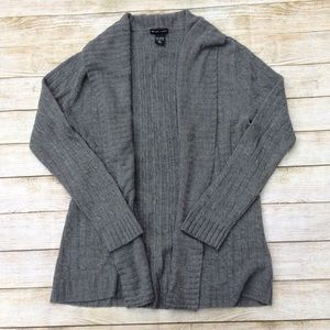 New York & Company Open Front Cardigan Size L